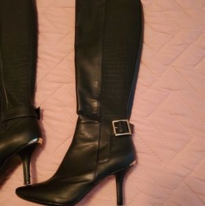 Calvin Klein leather boots